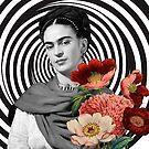 Frida in Flowers by Kelsey Weyerbacher