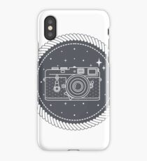 Camera with stars iPhone Case