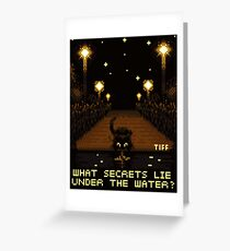 Water's Edge Greeting Card