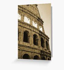 Coliseum - Rome Greeting Card