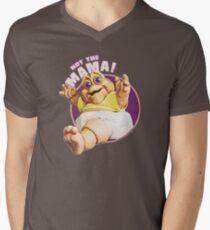 Not the mama dinosaur Men's V-Neck T-Shirt