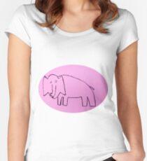 Éléphant - Martin Boisvert T-shirt échancré