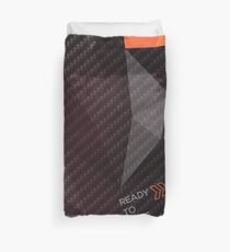 Ready to Race fractals Duvet Cover