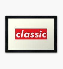 Classic / Words That Mean Something Totally Different When You're A Gamer  Framed Print