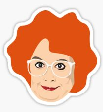 Gimme Gimme Gimme - Linda La Hughes - Kathy Burke Sticker