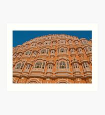 The Pink city of Jaipur Art Print