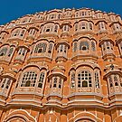 The Pink city of Jaipur by Konstantinos Arvanitopoulos