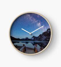 Bridge Under Untroubled Skies Clock
