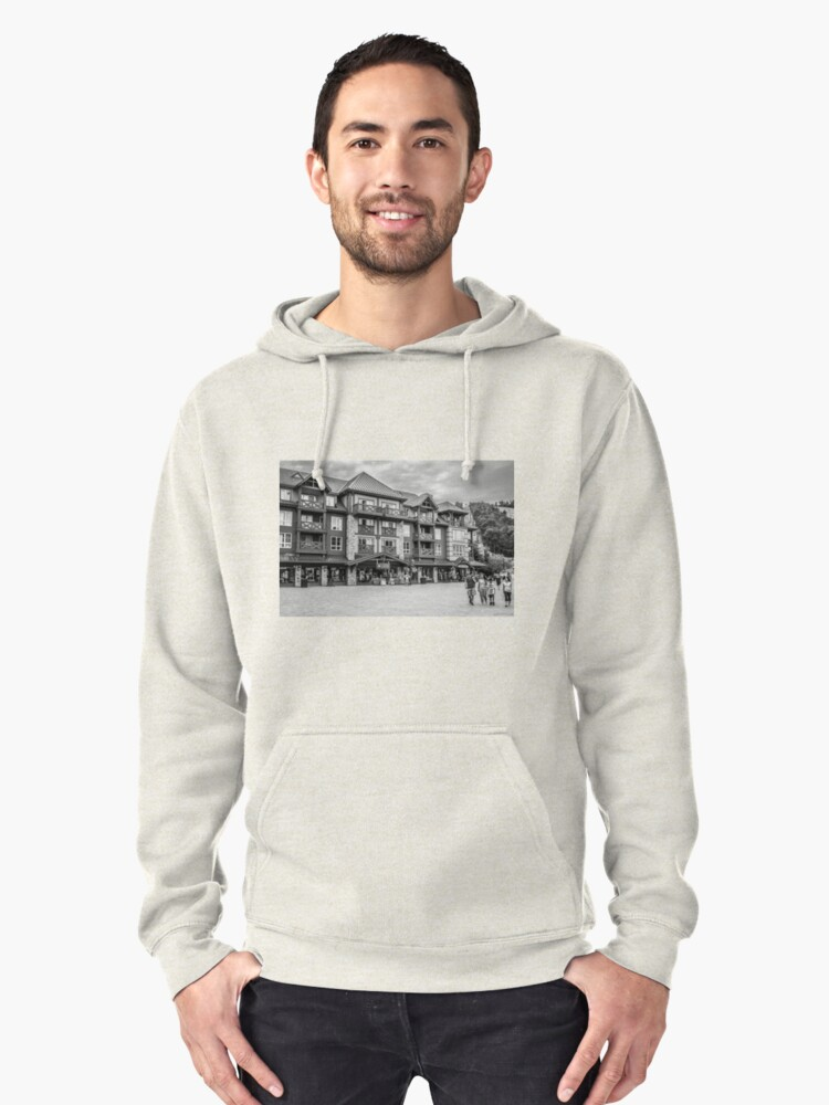 Lets Go Shopping Pullover Hoodie Front