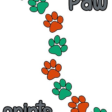 Paw prints by Terrinps