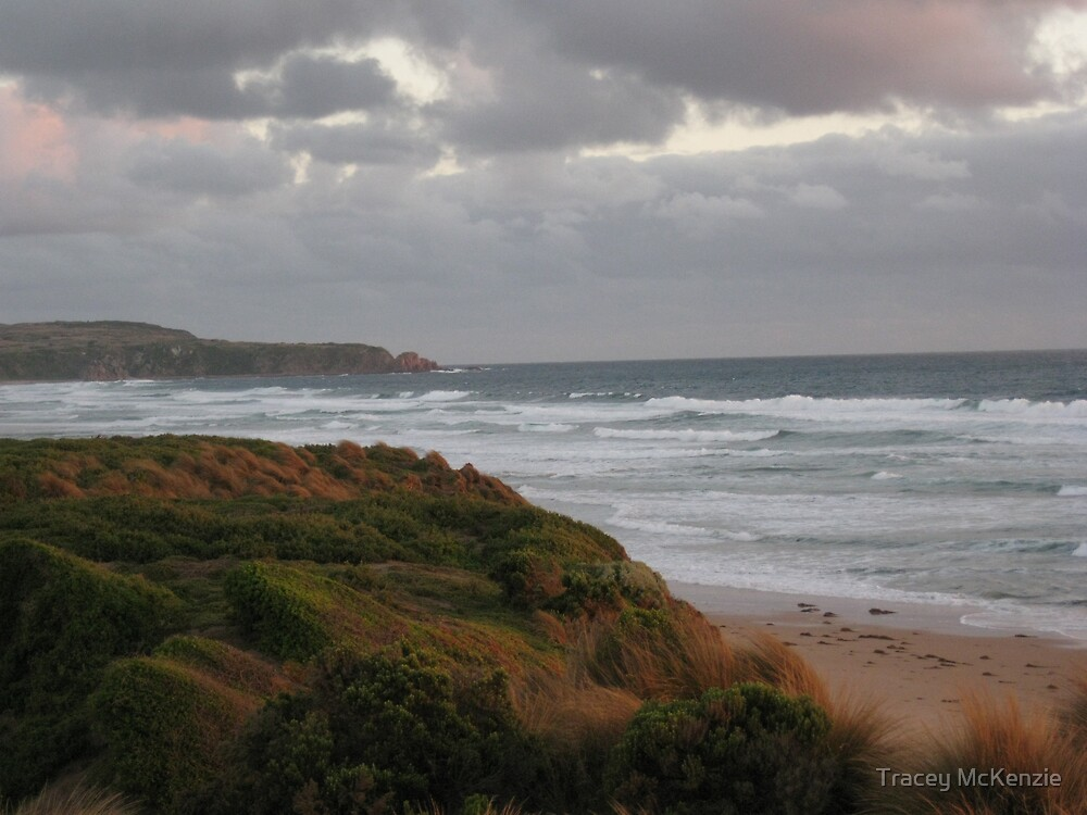 Grey day at Collonades by Tracey McKenzie