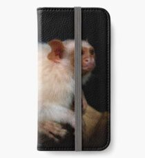 Silvery marmoset iPhone Wallet/Case/Skin