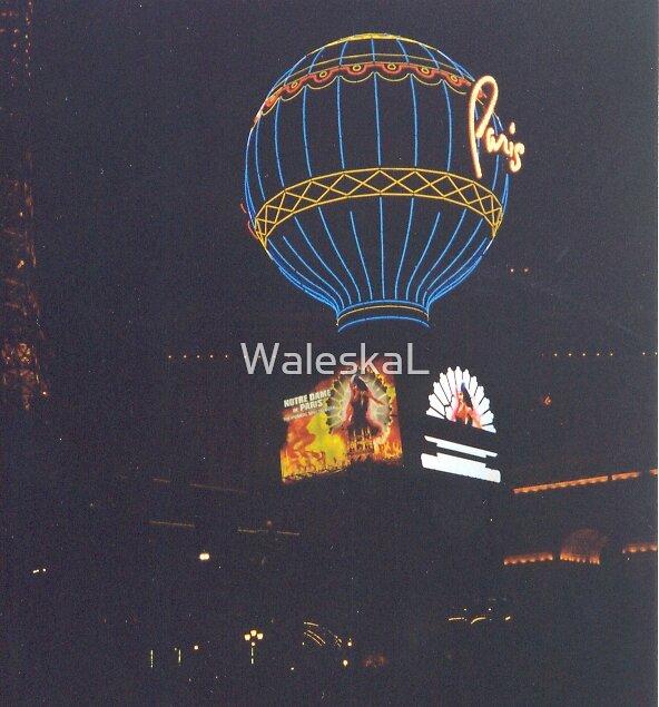 Vegas At Night by WaleskaL