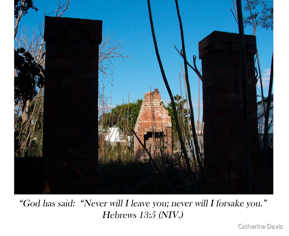 Never Will I Leave You Hebrews 13:5 by Catherine Davis