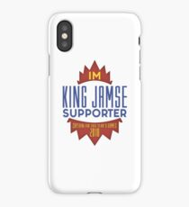 Lebron james basketball supporter iPhone Case/Skin