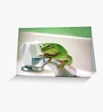 Who's Sink? Greeting Card