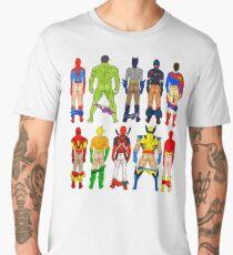 Superhero Butts Men's Premium T-Shirt
