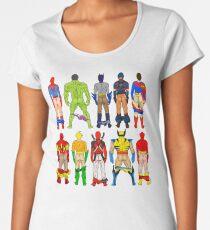 Superhero Butts Women's Premium T-Shirt