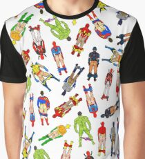 Superhero Butts Graphic T-Shirt