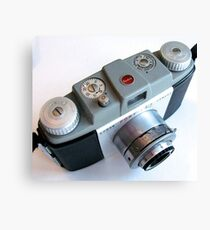 1950s 35mm Camera Angled Canvas Print