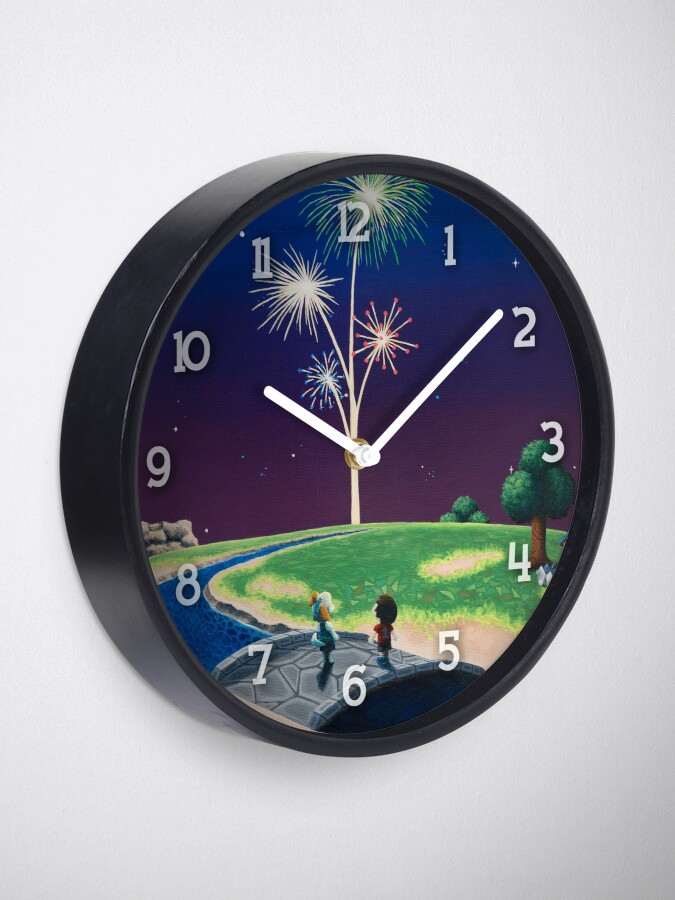 Alternate view of New Year Clock
