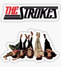 RETRO THE STROKES Sticker