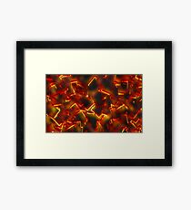 Burnings  Framed Print