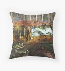 Old Rusty Throw Pillow