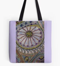 Blue Mosque Inspired Tote Bag