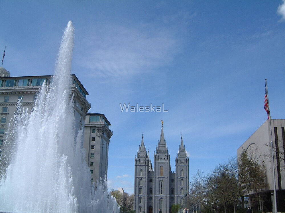 Temple Square by WaleskaL