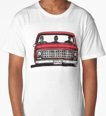 MMM DROP in red Long T-Shirt