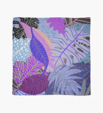 Ultraviolet Fade Nature Leaves Scarf