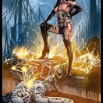 Robot Overlord Illustration 001 by Sokoliwski