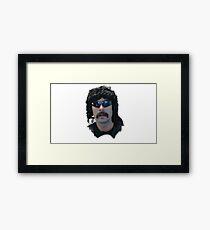 Dr Disrespect Framed Print