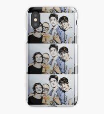 Hippo Campus Watercolor Boys iPhone Case/Skin