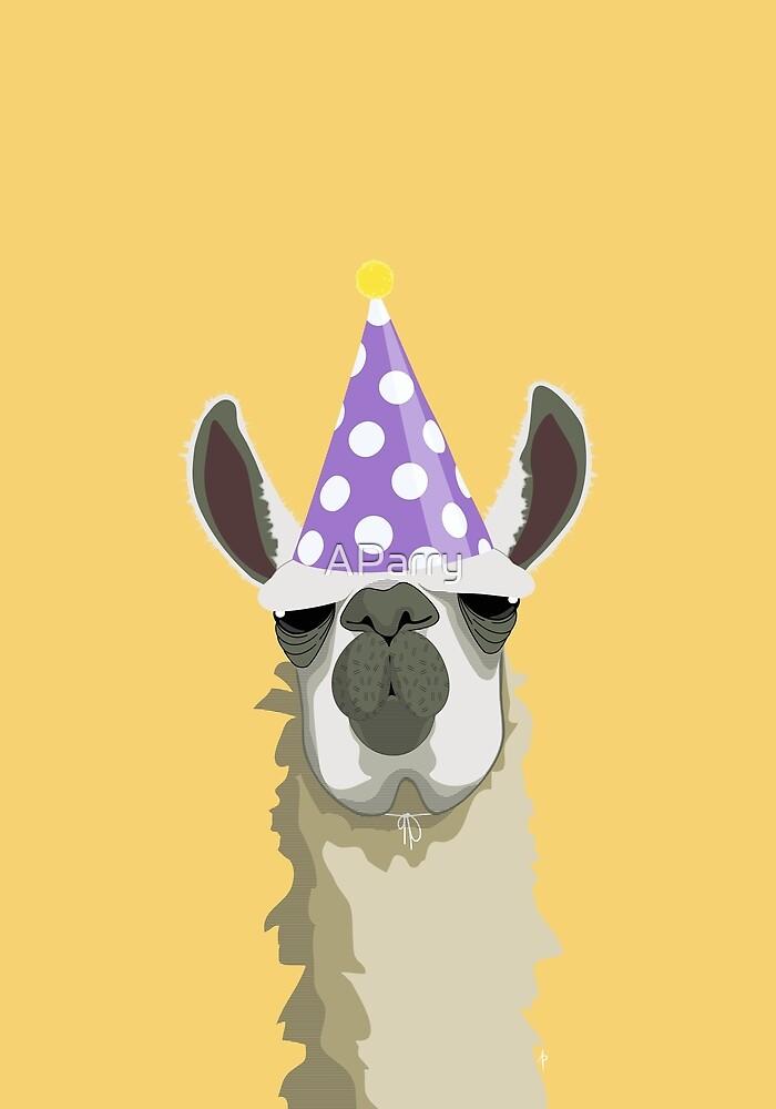 Birthday Llama By AParry