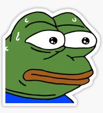 monkaS Twitch Emote Sticker