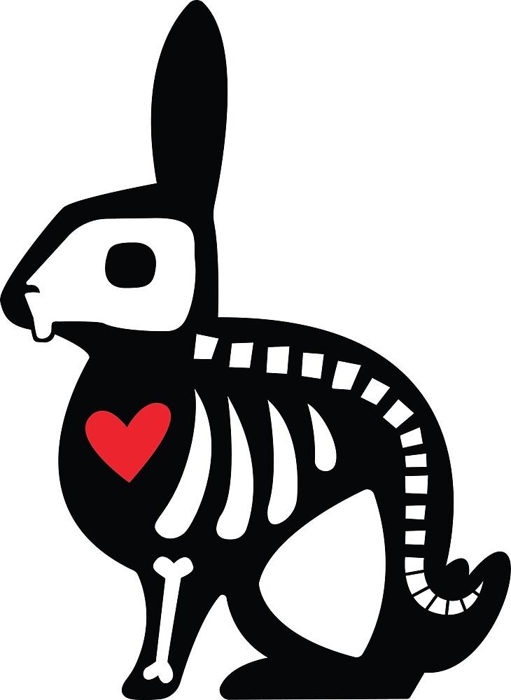 diagram of a bunny