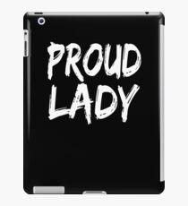 Vinilo o funda para iPad Proud Lady