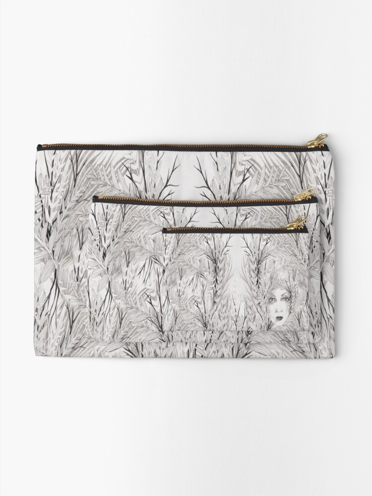 Alternate view of Mother Nature Zipper Pouch