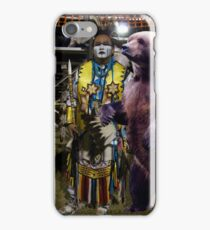When asked for an explanation of his late arrival the Chief's response of 'please, bear with me' should be taken in the most literal sense! iPhone Case/Skin