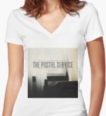 The Postal Service - Give Up Women's Fitted V-Neck T-Shirt