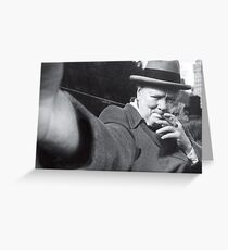 Churchill Selfie Imagined Greeting Card