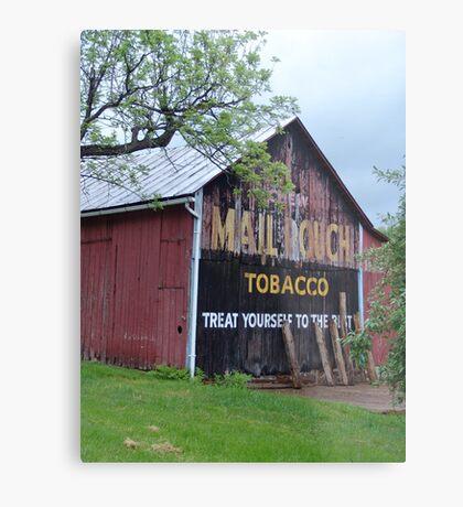 Mail Pouch Tobacco Metal Print