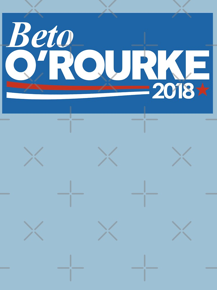 Beto orourke 2018 bumper sticker by bluewavedesign