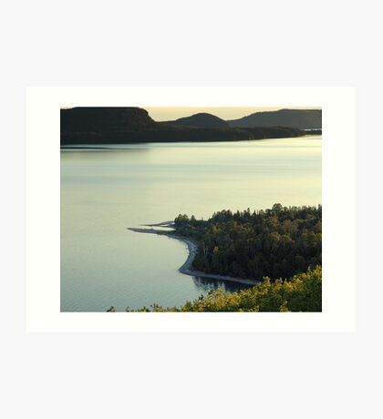 Quiet Evening at Nipigon Bay Art Print