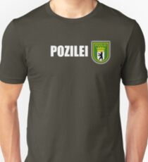 polizei pozilei berlin Unisex T-Shirt