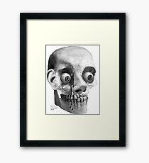 WEIRD AND BIZARRE Framed Print