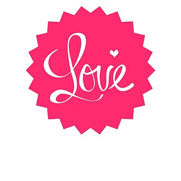 Love Shirt Heart Valentine's Day by 6thave
