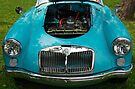 The art of the car: MGA 1600 Mk II Engine (1958) > by John Schneider